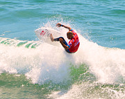 Kelly Slater Us Open Of Surfing 2012     8 Print by Jason Waugh