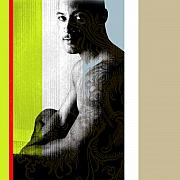 Nudes Digital Art Prints - Kelvin 2 Print by Chris  Lopez