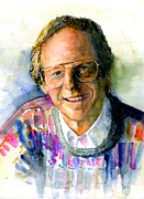 John Benson Paintings - Ken Kragen by John D Benson