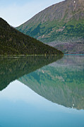 Triangles Prints - Kenai Mirror Abstract Print by Adam Pender