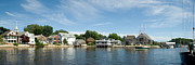 New England Village Art - Kennebunkport Maine by Jim Chamberlain