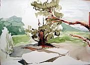 Kennedy Meadows Tree Print by Amy Bernays