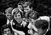 Rfk Photos - Kennedy Wedding, 1953 by Granger