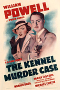 Mary Powell Framed Prints - Kennel Murder Case, The, Mary Astor Framed Print by Everett