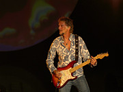 Stratocaster Posters - Kenny Loggins Poster by Bill Gallagher