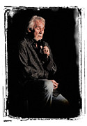 Kenny Rogers Framed Prints - Kenny Framed Print by Wade Aiken