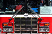 Fire Fighters Prints - Kensington Fire District Fire Engine . 7D15861 Print by Wingsdomain Art and Photography