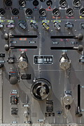 Kensington Fire District Fire Engine Control Panel . 7d15857 Print by Wingsdomain Art and Photography