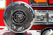 Truck Prints - Kensington Fire District Fire Engine Siren . 7D15880 Print by Wingsdomain Art and Photography