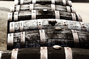 Man Photo Prints - Kentucky Bourbon Barrels Print by Robert Glover