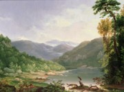 Mountain Valley Paintings - Kentucky River by Thomas Worthington Whittredge