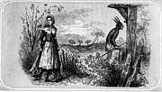 Kerchief Prints - Kentucky: Settler, 1792 Print by Granger