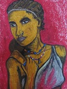 Kenya Pastels - Kenyan Lady by Suja Mithun