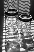 Steve Augustin Metal Prints - Kerr Jars Metal Print by Steve Augustin