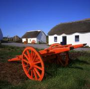The White House Prints - Kerry Bog Village Museum, Glenbeigh, Co Print by The Irish Image Collection