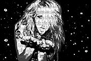 Singers Art - Kesha by Brad Scott