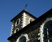 Weathervane Prints - Keswick Moot Hall Print by Deborah Mantle