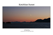 Signed Photo Framed Prints - Ketchikan Sunset Framed Print by William Jones
