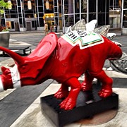 Dinosaur Art - #ketchup #dinosaur #pittsburgh #pa by Simon Prickett