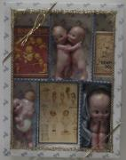 Antique Ceramics - Kewpies in Box by Shirley Heyn