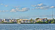 Ocean Front Photos - Key Largo Houses by Chris Thaxter