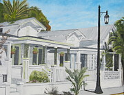 John Schuller Paintings - Key West - Whitehead Street by John Schuller