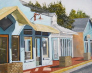 John Schuller Paintings - Key West Bahama Village by John Schuller