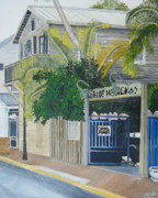John Schuller Paintings - Key West Blue Heaven by John Schuller