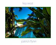 Florida House Framed Prints - Key West Blues Framed Print by Patrick  Flynn