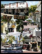 Ricks Prints - Key West Collage Print by David  Starnes