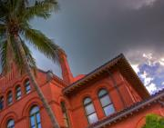 Florida House Posters - Key West Customs House Poster by William Wetmore