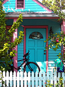 Charming Cottage Photos - Key West House by Sue Taylor
