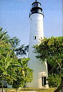 Lighthouse Photographs By Frederic Kohli - Key West Light  by Frederic Kohli