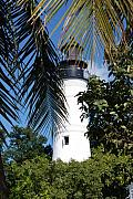 Lighthouses Usa - Key West Lighthouse by Susanne Van Hulst