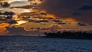 Florida Keys Photos - Key West Sunset by Patrick  Flynn