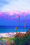 Florida Keys Paintings - Keys Beach by Deborah MacQuarrie