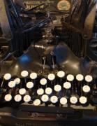 Typewriter Keys Photos - Keys of time by Shelley Jones