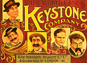 1910s Poster Art Posters - Keystone Film Company, Promotional Poster by Everett