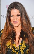 Khloe Kardashian Framed Prints - Khloe Kardashian At Arrivals Framed Print by Everett