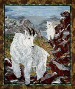 Landscapes Tapestries - Textiles - Kid Confidence by Kathy McNeil