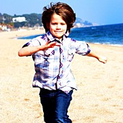 Children Photos - #kids #children #beach #desigual by Benjamin Drogehorn