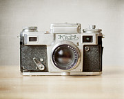 Camera Metal Prints - Kiev Metal Print by Violet Damyan