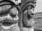 Kahuna Photos - Kii Statues by Ron Dahlquist - Printscapes