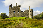 Kilchurn Castle Prints - Kilchurn Castle Print by Chris Thaxter