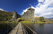 Ruin Photo Prints - Kilchurn Castle Print by Grant Glendinning