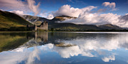 Featured Framed Prints - Kilchurn Castle Framed Print by Guido Tramontano Guerritore