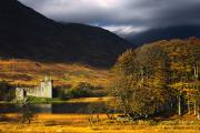 Kilchurn Castle Prints - Kilchurn Castle, Scotland Print by John Short