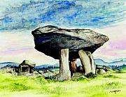 Celtic Mixed Media - Kilclooney Dolmen by Morgan Fitzsimons