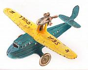 Child Toy Originals - Kilgore Sea Gull Airplane by Glenda Zuckerman