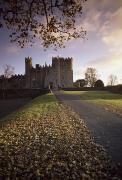 Architectural Heritage Framed Prints - Kilkea Castle, Co Kildare, Ireland Road Framed Print by The Irish Image Collection